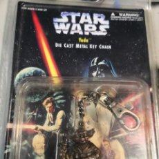 Figuras y Muñecos Star Wars: STAR WARS -TODA 1977 PLACO TOYS LLAVERO METALICO EN SU BLISTER PRECINTADO. COLECCIONABLE. Lote 227914920
