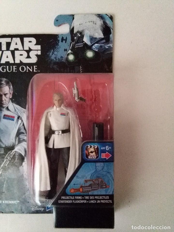 Figuras y Muñecos Star Wars: STAR WARS ROGUE ONE DIRECTOR KRENNIC - Foto 2 - 228146510