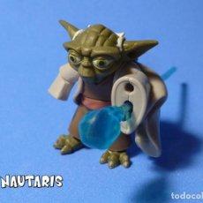 Figuras y Muñecos Star Wars: STAR WARS THE CLONE WARS YODA INCOMPLETO. Lote 228352325