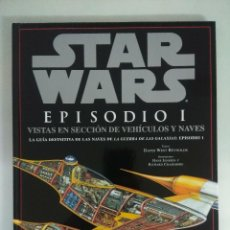 Figuras y Muñecos Star Wars: STAR WARS EPISODIO I/VISTAS EN SECCION DE VEHICULOS Y NAVES.. Lote 228450840