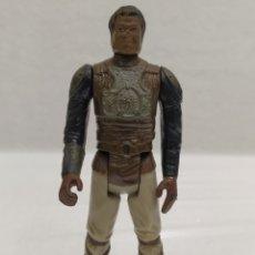 Figuras y Muñecos Star Wars: STAR WARS LANDO CALRISSIAN ESQUIFE GUARDIA. LFL 1982. HONK KONG. Lote 228574545