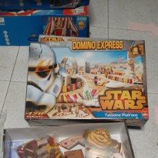 Figuras y Muñecos Star Wars: DOMINO EXPRESS STAR WARS 120 DOMINOS COMPLETO. Lote 229002855
