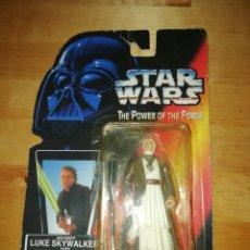 Figuras y Muñecos Star Wars: CURIOSO DEFECTO - FIGURA STAR WARS - LUKE SKYWALKER - OBI WAN KENOBI. Lote 229653055