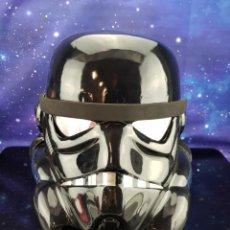 Figuras y Muñecos Star Wars: STAR WARS CASCO BLACK STORMTROOPER 1:1 - TAMAÑO REAL - VER FOTOS. Lote 230321375