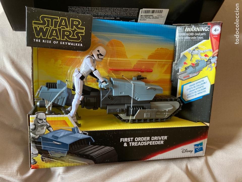 Figuras y Muñecos Star Wars: 2,Vehículos Star Wars nuevos con figuras de 10cm Hasbro,Disney - Foto 3 - 231125220