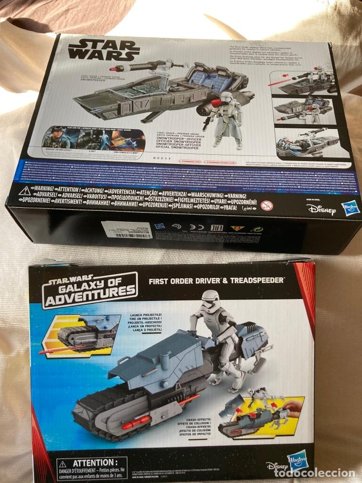 Figuras y Muñecos Star Wars: 2,Vehículos Star Wars nuevos con figuras de 10cm Hasbro,Disney - Foto 4 - 231125220
