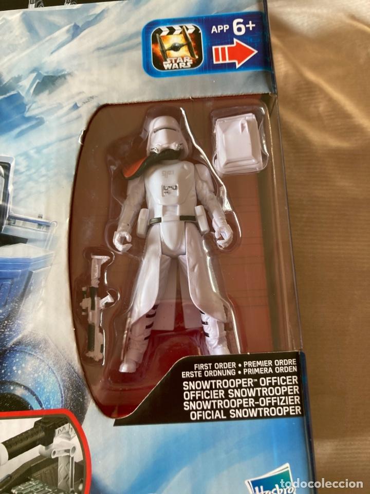 Figuras y Muñecos Star Wars: 2,Vehículos Star Wars nuevos con figuras de 10cm Hasbro,Disney - Foto 5 - 231125220
