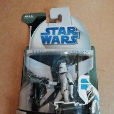 Figuras y Muñecos Star Wars: FIGURA STAR WARS. ROCKET-FIRING LAUNCHER. CLONE TROOPER. CLONE WARS. NUEVO. Lote 231157755
