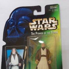 Figuras e Bonecos Star Wars: BEN ( OBI-WAN ) KENOBI WITH LIGHTSABER AND REMOVABLE CLOAK KENNER AÑO 1995. Lote 231352570
