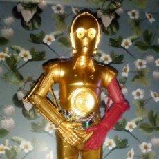 Figuras y Muñecos Star Wars: FIGURA C3PO DE STAR WARS, MIDE UNOS 27 CM - HASBRO. Lote 232240500