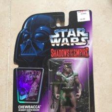 Figuras y Muñecos Star Wars: FIGURA CHEWBACCA - STAR WARS SHADOWS OF THE EMPIRE - KENNER VINTAGE. Lote 232458375