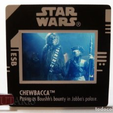 Figuras y Muñecos Star Wars: STAR WARS DIAPOSITIVA FREEZE FRAME CHEWBACCA (1998). Lote 232568433