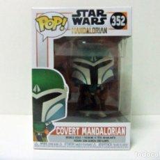 Figuras y Muñecos Star Wars: COVERT MANDALORIAN - FUNKO POP STAR WARS Nº 352 THE MANDALORIAN - MUÑECO FIGURA CAZARRECOMPENSAS. Lote 232870220