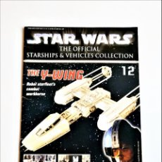Figuras y Muñecos Star Wars: STAR WARS THE OFFICIAL STARSHIPS & VEHICLES COLLECTION - 15 X 21.CM. Lote 253178205