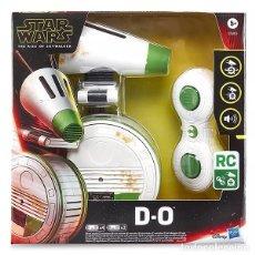 Figuras y Muñecos Star Wars: D-O DROIDE STAR WARS CON CONTROL REMOTO DISNEY HASBRO NUEVO. Lote 233051016