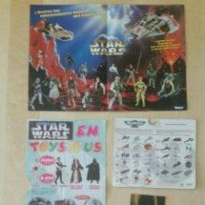Figuras y Muñecos Star Wars: CATÁLOGOS STAR WARS KENNER Y BLISTER MICROMACHINES. Lote 233224840