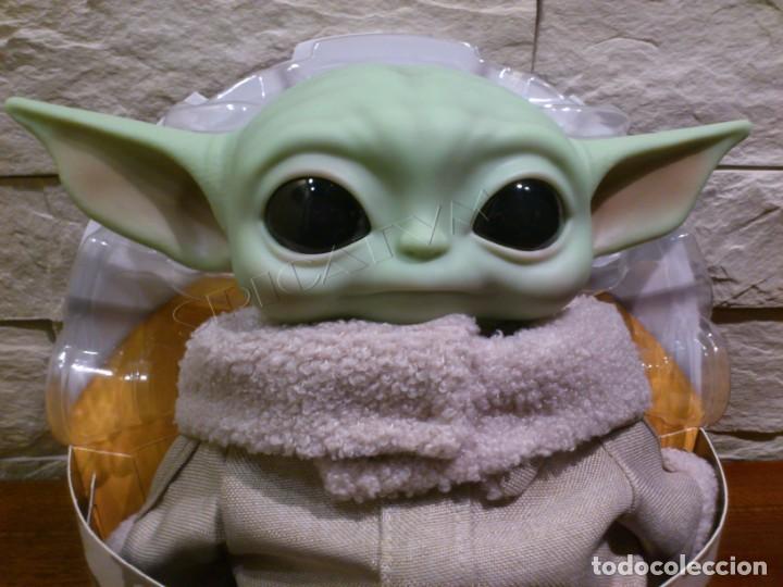 Figuras y Muñecos Star Wars: STAR WARS - THE MANDALORIAN - THE CHILD - EL NIÑO - BABY YODA - GROGU - PELUCHE MATTEL - 28CM NUEVO - Foto 2 - 233263450