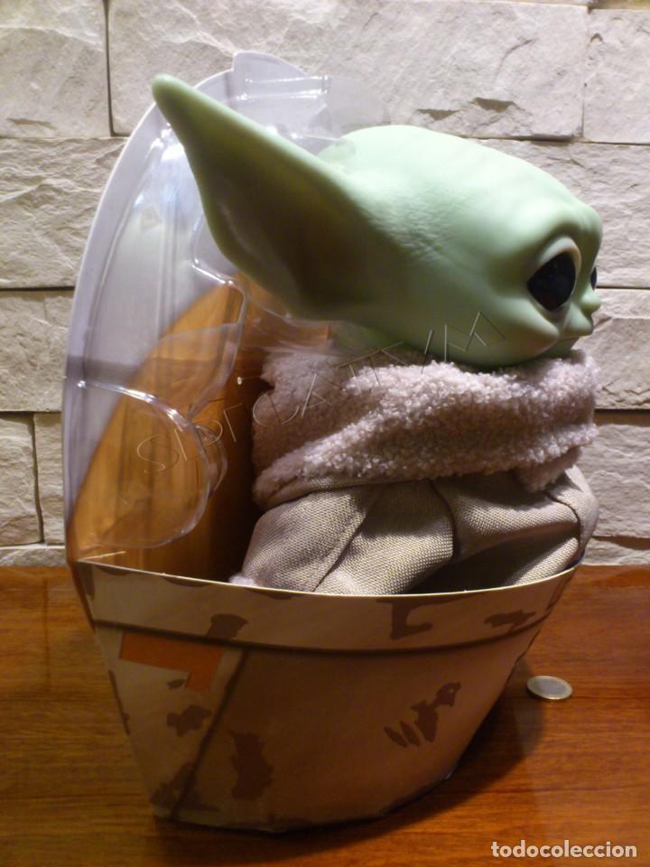 Figuras y Muñecos Star Wars: STAR WARS - THE MANDALORIAN - THE CHILD - EL NIÑO - BABY YODA - GROGU - PELUCHE MATTEL - 28CM NUEVO - Foto 3 - 233263450