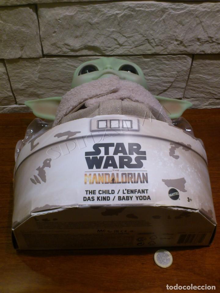 Figuras y Muñecos Star Wars: STAR WARS - THE MANDALORIAN - THE CHILD - EL NIÑO - BABY YODA - GROGU - PELUCHE MATTEL - 28CM NUEVO - Foto 6 - 233263450