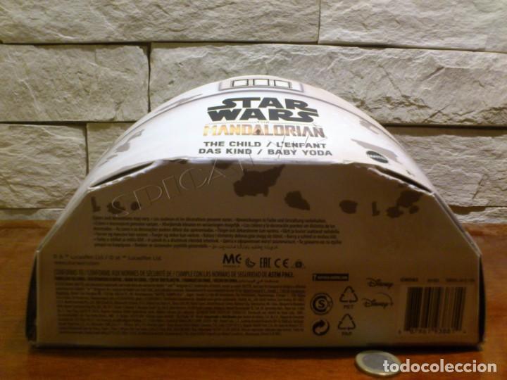 Figuras y Muñecos Star Wars: STAR WARS - THE MANDALORIAN - THE CHILD - EL NIÑO - BABY YODA - GROGU - PELUCHE MATTEL - 28CM NUEVO - Foto 7 - 233263450