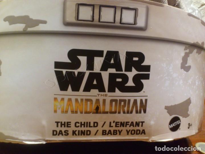 Figuras y Muñecos Star Wars: STAR WARS - THE MANDALORIAN - THE CHILD - EL NIÑO - BABY YODA - GROGU - PELUCHE MATTEL - 28CM NUEVO - Foto 9 - 233263450