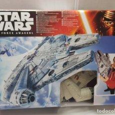 Figuras y Muñecos Star Wars: STAR WARS HALCON MILENARIO DE HASBRO SIN ABRIR DISNEY. Lote 233315325