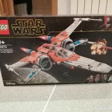 Figuras y Muñecos Star Wars: CAJA STAR WARS LEGO REFERENCIA 75273 POE DAMERONS X-WING FIGHTER VER FOTOS SIN ABRIR. Lote 233324050