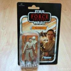 Figure e Bambolotti Star Wars: STAR WARS THE VINTAGE COLLECTION : REY (JAKKU). HASBRO. A ESTRENAR. Lote 234335780