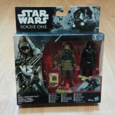 Figuras y Muñecos Star Wars: STAR WARS ROGUE ONE :REBEL COMMANDO PAO VS HASBRO. A ESTRENAR EN BLISTER. Lote 234336730