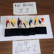 Figure e Bambolotti Star Wars: LOTE 7 DROIDE LEGO COMPATIBLE INCLUYE PEANA Y ARMA STAR WARS. Lote 234460625