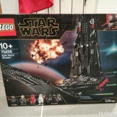 Figuras y Muñecos Star Wars: CAJA LEGO STAR WARS REFERENCIA 75256 KYLO RENS SHUTTLE NUEVO VER FOTOS. Lote 234569860