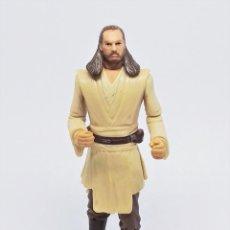 Figuras y Muñecos Star Wars: FIGURA DE QUI-GON JINN STAR WARS EPISODIO I 1 LA AMENAZA FANTASMA ©1998 LFL HASBRO. Lote 234797075
