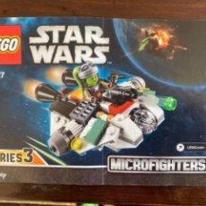 Figuras y Muñecos Star Wars: LEGO STAR WARS MICROFIGHTERS REF 75127 SERIES 3 CATALOGO INSTRUCCIONES ORIGINAL. Lote 235239415