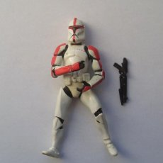 """Figure e Bambolotti Star Wars: CLONE TROOPER (CAPITAN) STAR WARS FIGURA SUELTA 3,75"""" EPISODIO II SAGA. Lote 235313085"""