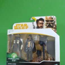 Figuras y Muñecos Star Wars: STAR WARS KESSEL GUARD & LANDO CALRISSIAN. Lote 235465810