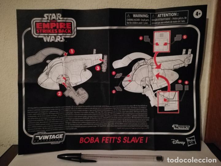 INSTRUCCIONES - STAR WARS BOBA FETTS SLAVE 1 - STAR WARS - EL IMPÈRIO CONTRAATACA - (Juguetes - Figuras de Acción - Star Wars)