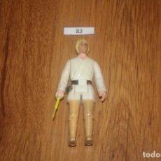 Figuras e Bonecos Star Wars: FIGURA ACCIÓN VINTAGE STAR WARS KENNER LUKE SKYWALKER FARMBOY COMPLETO 1977 HONG KONG GMFGI FIRST 12. Lote 235823590