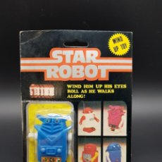 Figuras y Muñecos Star Wars: STAR ROBOT - MADE IN HONG KONG - STAR WARS KNOCK OFF ROBOT - WIND UP TOY. Lote 235900545