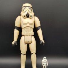 Figuras y Muñecos Star Wars: STAR WARS VINTAGE FIGURA DE PLASTICO HINCHADO BOOTLEG. TAMAÑO GRANDE - MUY RARA. Lote 236245960