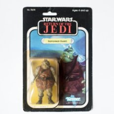Figuras y Muñecos Star Wars: STAR WARS GAMORREAN GUARD ROTJ 77 BACK MOC - GUERRA GALAXIAS BLISTER ORIGINAL SELLADO KENNER. Lote 236405220