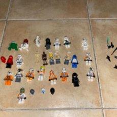 Figuras y Muñecos Star Wars: LOTE DE 25 FIGURAS ACCESORIOS LEGO STAR WARS LEGO. Lote 236605285
