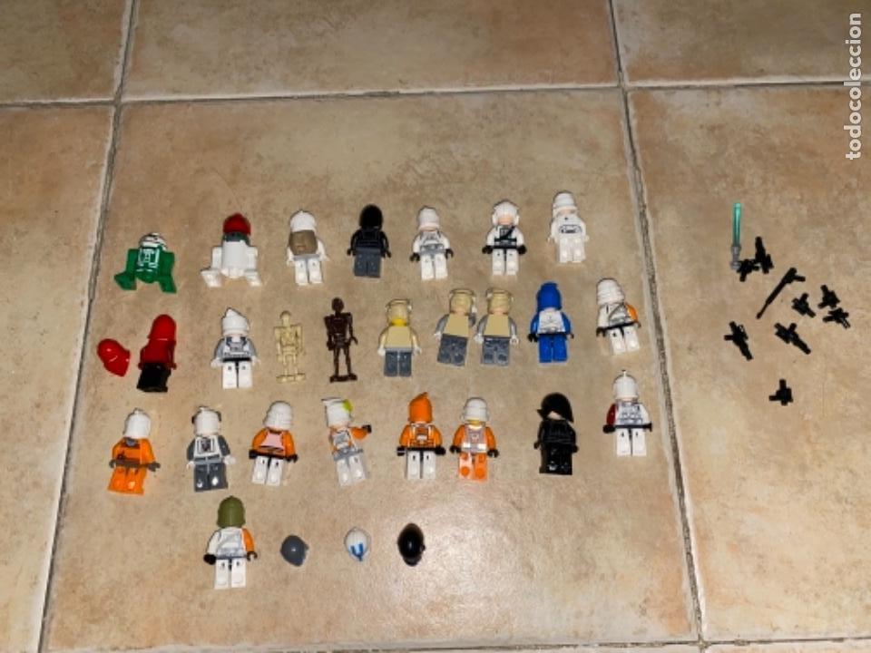 Figuras y Muñecos Star Wars: LOTE DE 25 FIGURAS ACCESORIOS LEGO STAR WARS LEGO - Foto 3 - 236605285