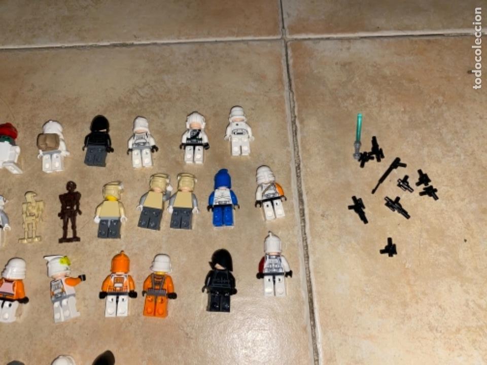 Figuras y Muñecos Star Wars: LOTE DE 25 FIGURAS ACCESORIOS LEGO STAR WARS LEGO - Foto 4 - 236605285
