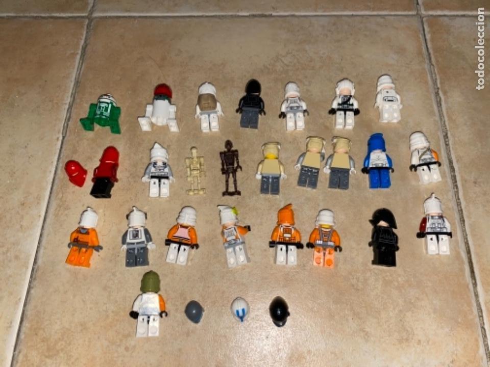 Figuras y Muñecos Star Wars: LOTE DE 25 FIGURAS ACCESORIOS LEGO STAR WARS LEGO - Foto 5 - 236605285