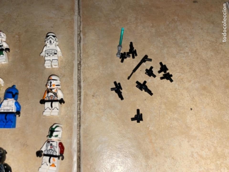 Figuras y Muñecos Star Wars: LOTE DE 25 FIGURAS ACCESORIOS LEGO STAR WARS LEGO - Foto 7 - 236605285