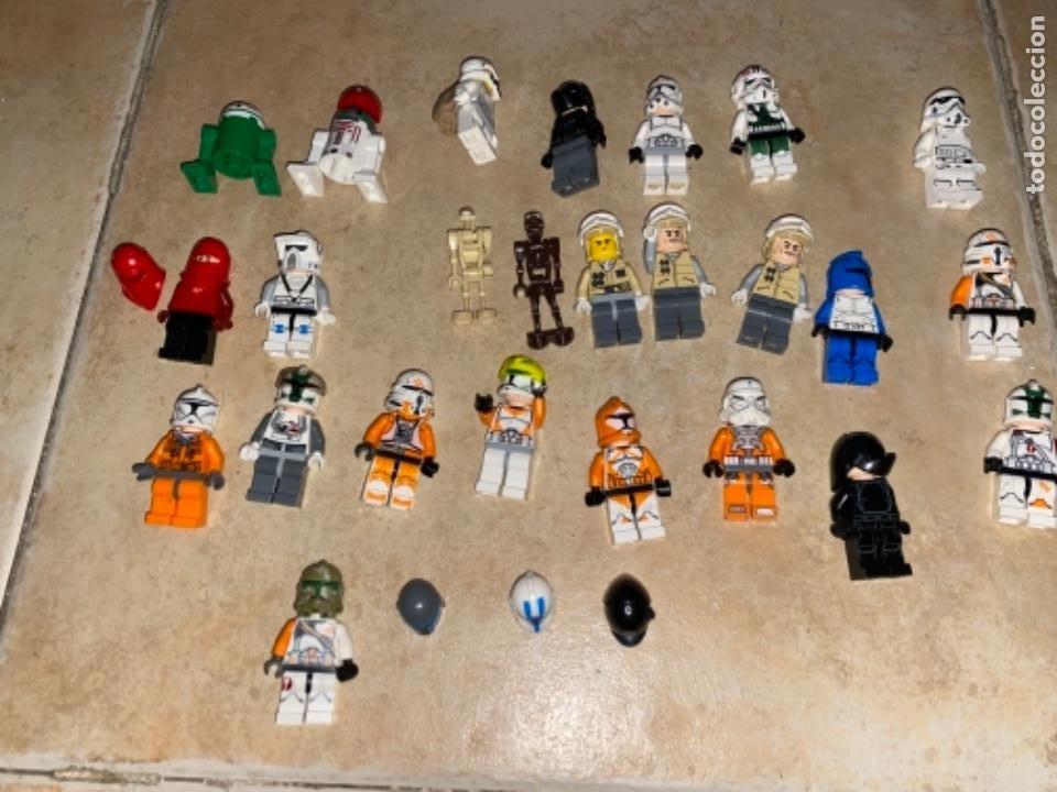 Figuras y Muñecos Star Wars: LOTE DE 25 FIGURAS ACCESORIOS LEGO STAR WARS LEGO - Foto 10 - 236605285