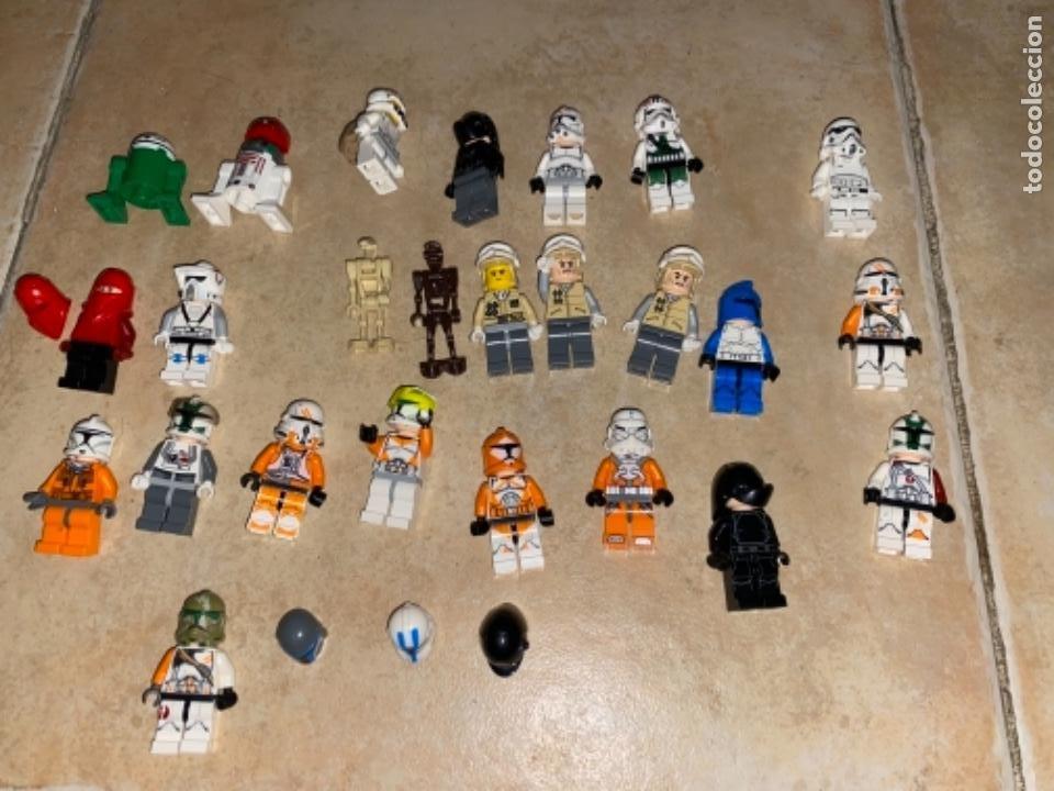 Figuras y Muñecos Star Wars: LOTE DE 25 FIGURAS ACCESORIOS LEGO STAR WARS LEGO - Foto 11 - 236605285