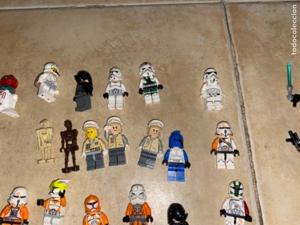 Figuras y Muñecos Star Wars: LOTE DE 25 FIGURAS ACCESORIOS LEGO STAR WARS LEGO - Foto 12 - 236605285