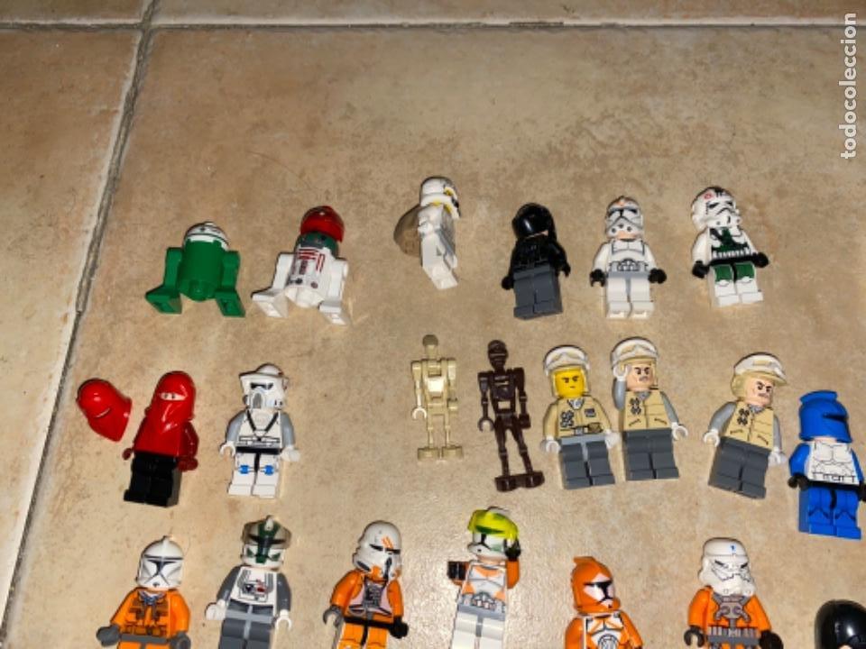 Figuras y Muñecos Star Wars: LOTE DE 25 FIGURAS ACCESORIOS LEGO STAR WARS LEGO - Foto 13 - 236605285