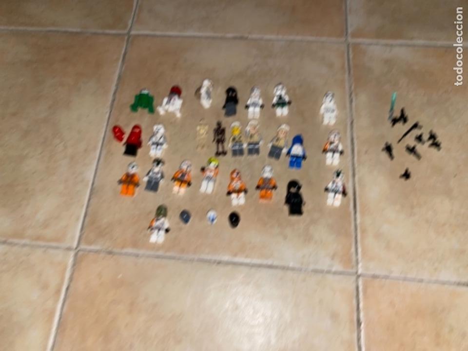 Figuras y Muñecos Star Wars: LOTE DE 25 FIGURAS ACCESORIOS LEGO STAR WARS LEGO - Foto 15 - 236605285